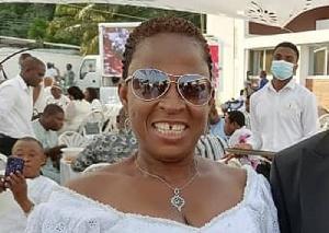 Comfort Doyoe Cudjoe is MP for Ada