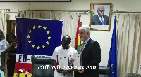 The agreement was signed by Ghana's Finance Minister and EU Ambassador to Ghana William Hanna