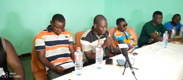 The Tricycle Operators Association of the North East Region during a meeting