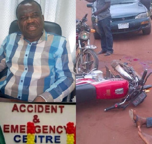 The accident recorded 20 Okada accident cases during the Christmas celebrations