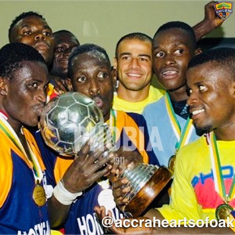 Today in History: Hearts beat Espérance 3-1 to win the CAF Champions League