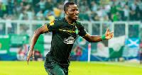Ghanaian midfielder Mubarak Wakaso