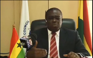 General Secretary of the Christian Council, Dr. Kwabena Opuni Frimpong