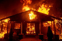 The fire started around 12:00 am  on Thursday dawn