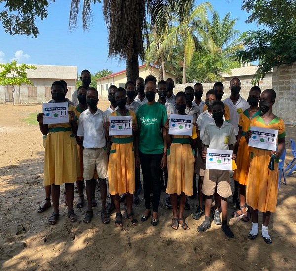 Dash AM Foundation extends its coronavirus campaign to community schools