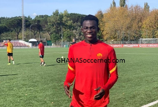 Striker Felix Ohene Gyan scores on full debut for AS Roma U19 in Primavera Championship