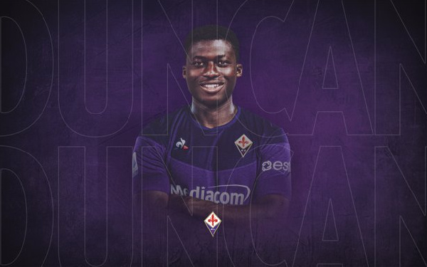 'I have been dreaming of Fiorentina for 4 or 5 years' - Alfred Duncan