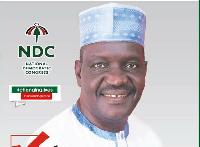 Alhaji Habibu Dramani, aspiring National Executive Committee member for NDC