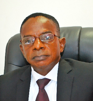 Johnson Akuamoah Asiedu was appointed by the President as new Auditor-General