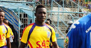 Former Accra Hearts of Oak striker, Selasi Adjei