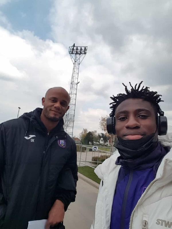 Ghanaian youngster Christian Nfodjo joins Belgian giants Anderlecht