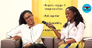 Farida Bedwei (L) is a software engineer