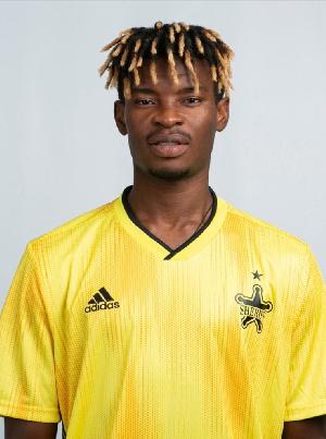 Ghanaian midfielder Edmund Addo