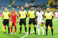 Referee Youssef Essrayi took charge of Ghana vrs Benin.