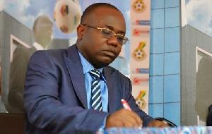 Kwesi Nyantakyi, president of the Ghana Football Association (GFA)