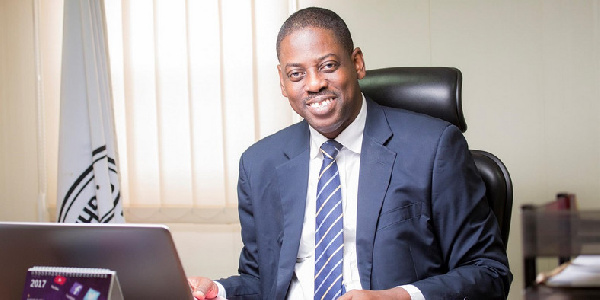 Director General of Securities & Exchange Commission, Rev. Dr. Daniel Ogbarmey-Tetteh