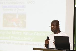 Founding Director of WACCI, Professor Eric Danquah