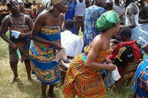Borborbor as a genre and dance form could be likened to the spirit and soul of the people of Eweland