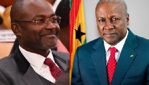 Kennedy Agyapong and John Dramani Mahama