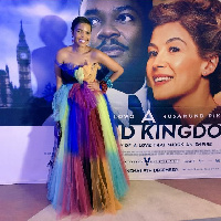 Amma Asante at the premiere of her movie 'A United Kigdom'