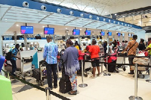 Evacuation Some Ghanaian Nationals At The Air Port