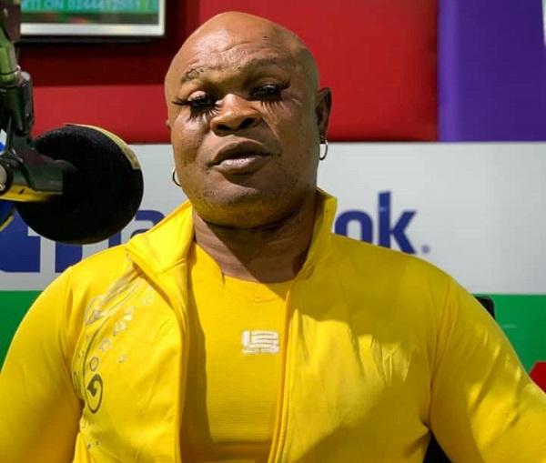 PHOTOS: Bukom Banku returns to skin bleaching, now wears eyelashes