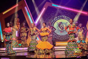 The very colourful launch event which was held at the studios of TV3