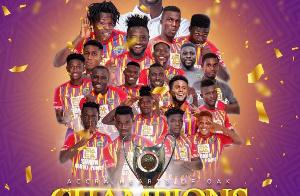 Hearts of Oak are GPL champions
