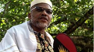 Nnamdi Kanu: Yau za a ci gaba da shari'ar jagoran 'yan awaren Biafra