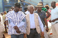 Thabo Mbeki, Head of the Commonwealth Observer Mission in Ghana