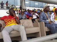 Nii Lante Vanderpuye (L) and Kwesi Nyantakyi (R)