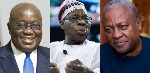 Demonstrate statesmanship – Olusegun Obasanjo tells Akufo-Addo and Mahama