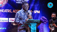 Reverend Dr Mensa Otabil, Founder and General Overseer of the International Central Gospel Church