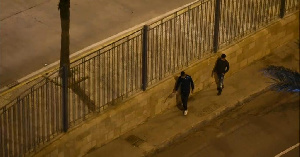 The over 350 migrants were unsuccessful in trying to cross the fence