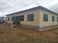 An ultra modern CHPS compound has been commissioned for the people of Pentengsa in Builsa South