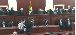 Justice Gbadegbe cries in Court as he retires