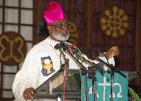 Most Reverend Gabriel Charles Palmer-Buckle, Metropolitan Archbishop of Accra
