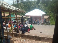 Soldiers round up youth of Upper Denkyira following Capt. Mahama's lynching