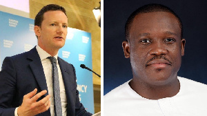 Ghana MP Sam George and UK former MP Seb Dance enter war of words over LGBTQ den polygamy rights
