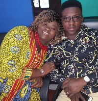 Cee now Adepa Cee with her husband