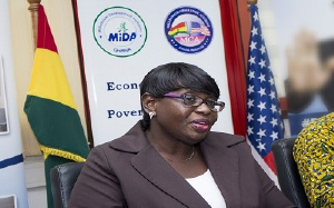 Dr Cherub Antwi-Nsiah is Director of Gender and Social Inclusion Unit at MiDA