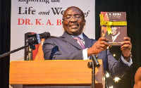 Vice President Dr Mahamudu Bawumia launched the book