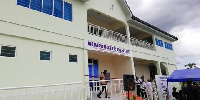 Newly constructed ultra-modern diagnostic health center in the Wassa East District