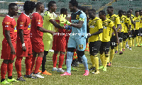 Kotoko and Ashgold faced off in the maiden J.A Kufuor Cup at the Baba Yara stadium