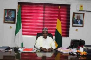 Ambassador Gambo Yusuf Hamza, Ag. Nigerian High Commissioner To Ghana