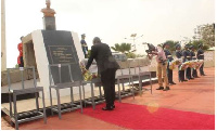 Dr Bawumia on Friday laid a wreath on behalf of government and Ghanaians