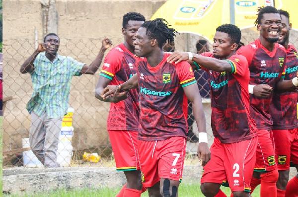 MTN FA Cup: Evans Adomako scores brace as Asante Kotoko beats Thunderbolt FC to secure Round of 16 spot