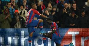 Jordan Ayew won the Palace Goal of the Year awarf