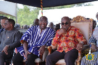 President Nana Addo Dankwa Akufo-Addo and Vice President Dr Mahamudu Bawumia