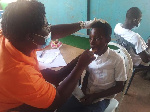 The exercise was carried out in partnership with the Ghana Health Service